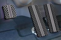 Kenworth Black Billet Pedal Set 1994-2000