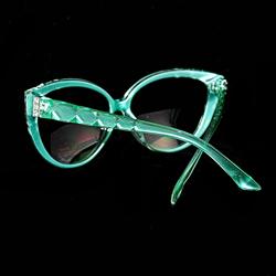 Rear view of Mint Green frames