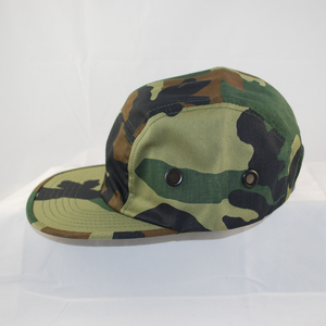 3/4 front view of Biker's Cadet cap