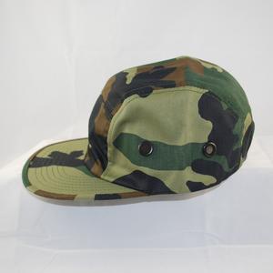 3/4 front view of Biker's Cadet cap