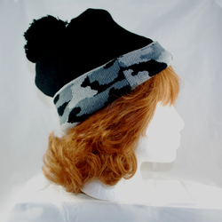 Side View of Beanie
