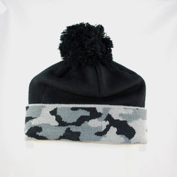 Another view of details of Beanie
