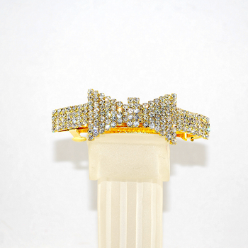 Front view of French Barrette