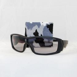 Matte Black w/pale smoke lens & Urban wristlet