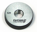3/8-24 Left-Hand UNJF Class 3A Solid-Design Thread Ring GO Gage