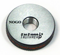 """1""""-11-1/2 Class 2A NPSM Solid-Design Thread Ring NOGO Gage"""