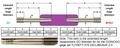 "3/8-24 UNJF Class 3B Taperlock Thread Plug Gage Set 2.0"" Extended Length GO Member"