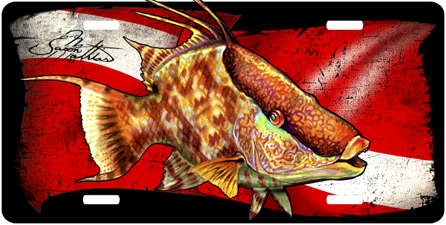 hogfish-license-plate.png