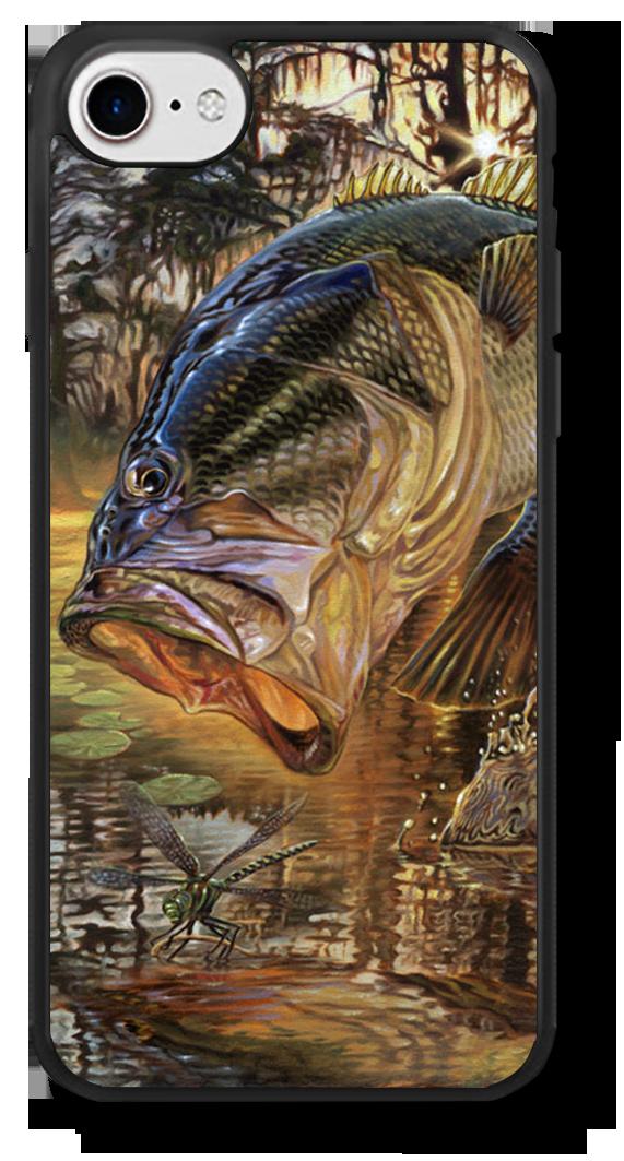 iphone-7-case-jason-mathias-art-largemouth-bass-marline-fish-art.png