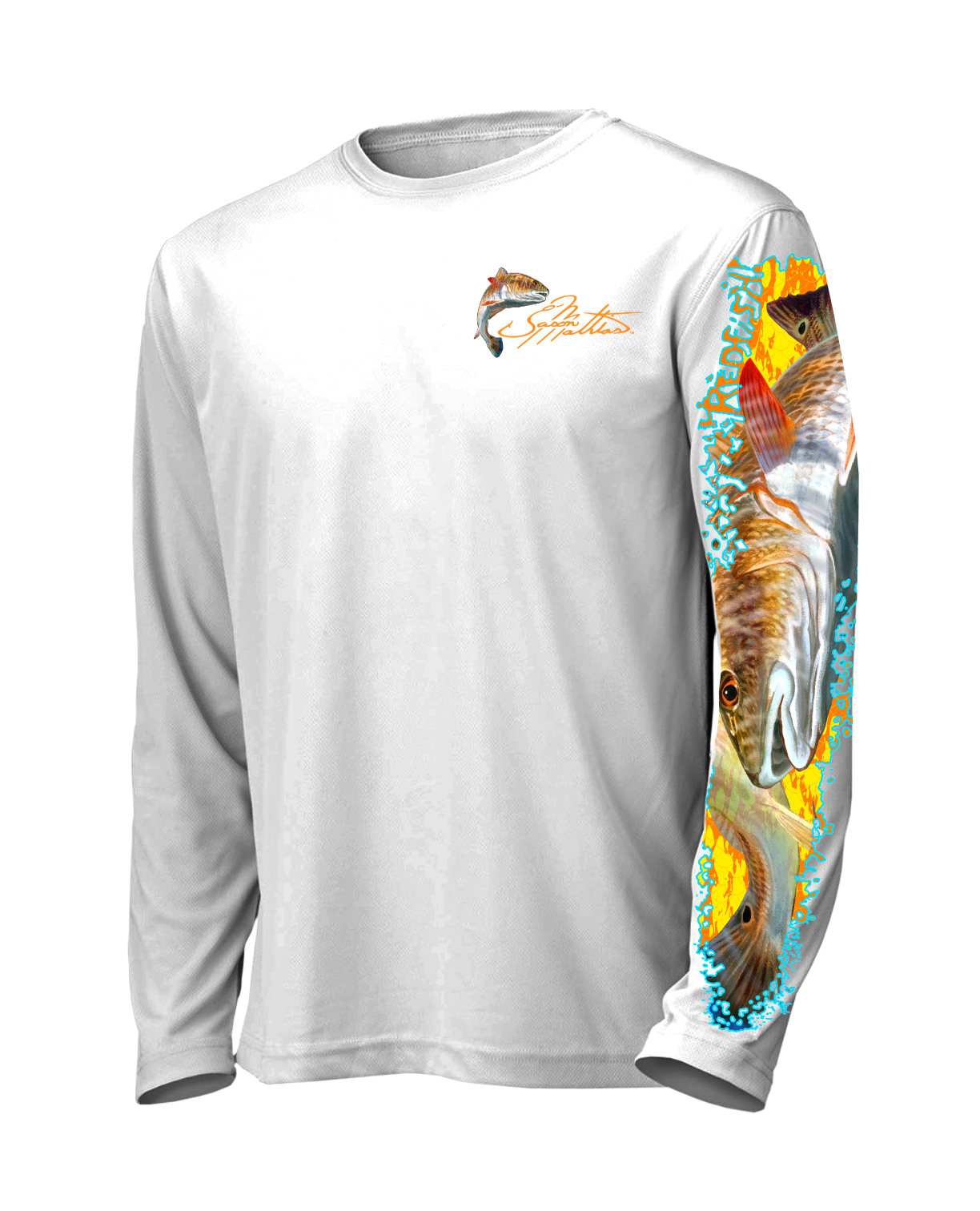 0cdf515afb14 Ls High Performance Tee Shirt Redfish Jason Mathias Studios