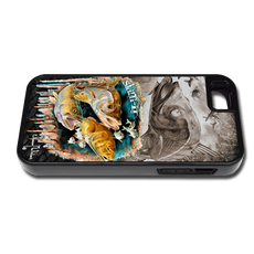 """iPhone 5 & 5s fine art phone case"" by artist Jason Mathias: Carry around this unique piece of personalized art of a Inshore Slam with the Snook, Trout and Redfish while protecting your phone all at the same time!"