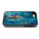 """""""iPhone 5 & 5s fine art phone case"""" by artist Jason Mathias: Carry around this unique piece of personalized art of a Black Marlin corralling up a school of Shark Mackerel while protecting your phone all at the same time!"""