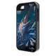 """""""iPhone 5 & 5s"""" fine art phone case"""" by artist Jason Mathias: Carry around this unique piece of personalized art of an illusive Swordfish stalking Squid in a underwater night scene while protecting your phone all at the same time!"""