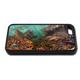 """""""iPhone 5c fine art phone case"""" by artist Jason Mathias: Carry around this unique piece of personalized art of Lobster filled ledges with a camouflaged Hogfish and curious Barracuda while protecting your phone all at the same time!"""