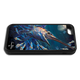 """""""iPhone 5c fine art phone case"""" by artist Jason Mathias: Carry around this unique piece of personalized art of an illusive Swordfish stalking Squid in a underwater night scene while protecting your phone all at the same time!"""