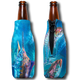 "Jason Mathias Fine Art Bottle Koozies & Coolie Cups: Featuring ""Liquid Metal"" a lit up Black Marlin corralling a school of Mackerel!  Sport your very own Jason Mathias Black Marlin Coolie Cup when fishing, on a sunset cruises, at a barbeque or just hanging out at the sandbar. These awesome bottle suits are sure to keep your beverage ice cold in style!"