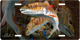 Features: Jason Mathias Heavy Duty Aluminum Metal License Plates! Artwork of two golden Redfish is Featured in a Radiant Shiny High Gloss! A perfect gift for the avid fisherman who enjoys sportfishing, gamefish and art. Fine Art in Vivid Colors with Crisp Super High Detail! Completely Weatherproof with UV protection and moisture resistant technology to ensure the Highest Quality! You can Easily and Safely Customize your Vehicle immediately!