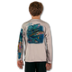 Athletic Grey  tuna-white-youth-solar-ls-back-performance-shirt.png  Stay cool with Jason Mathias's popular line of T-shirts for boys and girls! Catch your kids a Jason Mathias youth tee to match the one that you have, or help inspire their love for their favorite fish species like this awesome scene featuring a whimsical Yellowfin Tuna colorfully shimmering against its underwater world. This fine art design is sublimated using superior technology that definitely makes for a top favorite among all young anglers and outdoor enthusiasts worldwide!  Say goodbye to sunburns and hello to the supreme comfort of the Jason Mathias youth Solar Performance Long Sleeve shirt! This awesome shirt offers superior sun protection and performance qualities. It is so comfortable that you will feel like you're not even wearing a shirt! Our shirts don't snag or catch, which makes it a must when doing what you do best! Featuring up to UPF +50 solar protection, the Solar Performance Long Sleeve is lightweight, comfortable, and sure to keep the sun's rays from penetrating through to your skin. This fabric is powered by PURE-tech™ moisture wicking technology which will keep you cooler in the summer and warmer in the winter.  Fabric: 4.1oz. / 100% Performance w/ UPF Protection  Made in USA