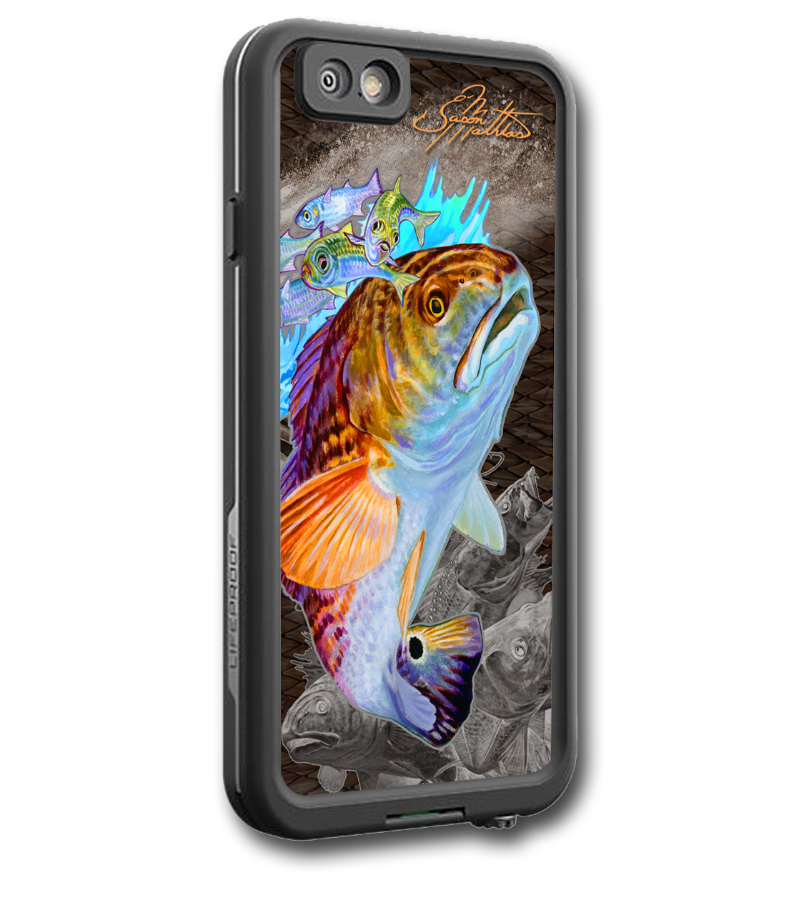 Iphone 7 fine art lifeproof skin by artist jason mathias carry around this