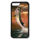 Carry around this unique piece of personalized art of a leaping Tarpon framed against a blazing sunset while protecting your phone all at the same time!