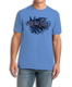 "Front (Blue) LOOKS AND FEELS JUST LIKE COTTON! This shirt is truly awesome, featuring Jason Mathias's fine art rendition of a fierce Mako Shark, busting right out of the shirt is sure to catch the eye and the fish. fine art design is sublimated onto our super soft cotton feel technology that allows for practical everyday use and activities.   Jason Mathias Strike Zone Cotton Feel short sleeve shirt! Advanced cotton feel technology offers performance qualities in a top quality shirt that looks and fees just like a soft cotton. So comfortable that you feel like you're not even wearing a shirt! Helps keep you cooler and drier which makes it a must when doing what you do best! The Strike Zone Cotton Feel short sleeve is super comfortable, snag free and practical for everyday activities. This fabric is powered by moisture wicking technology which will keep you cooler in the summer and warmer in the winter.   Jersey knit Moisture wicking and antimicrobial properties Snag resistant Active fit Seamed single-needle 3/4"" collar Double-needle sleeve and bottom hems Quarter-turned to eliminate center crease 5 oz/ 100% poly  Made In America Sizing: Small though 3XL Super jumbo back sublimation art print: 22""x22"""