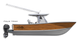 Get that classic teak look with this timeless boat wrap design by Jason Mathias art: Featuring Jason's custom digital art design of faux teak.