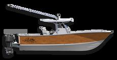 Get that classic teak look with this timeless boat wrap design by Jason Mathias art: Featuring Jason's custom digital art design of faux teak.