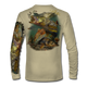 """Tan This shirt is truly awesome, featuring Jason Mathias's """"Inshore Redfish and Snook""""  fine art design sublimated onto our superior technology that definitely makes for a top favorite among all anglers and outdoor enthusiast world wide!"""