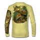 """Pale yellow This shirt is truly awesome, featuring Jason Mathias's """"Inshore Redfish and Snook""""  fine art design sublimated onto our superior technology that definitely makes for a top favorite among all anglers and outdoor enthusiast world wide!"""