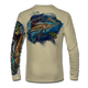 "Tan This shirt is truly awesome, featuring Jason Mathias's ""Sailfish Mahi"" fine art design that is sublimated onto our superior technology that definitely makes for a top favorite among all anglers and outdoor enthusiast world wide!"