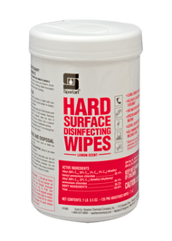 Hard Surface Disinfecting Wipes Lemon Scent
