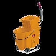 Mop Bucket with Side Press Wringer