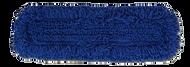 "5"" x 24"" Blue Microfiber Dust Mop"