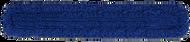 "5"" x 60"" Blue Microfiber Dust Mop"