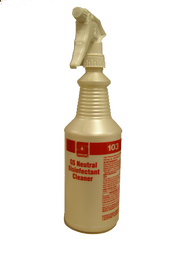 Green Neutral Disinfectant Spray bottle