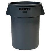 Brute 32 gallon Trash Can