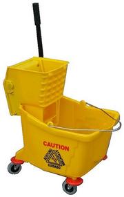35 Liter Mop Bucket & Side Press Wringer
