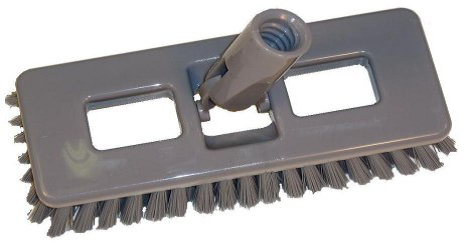 Poly Fill Swivel Deck Scrub Brush