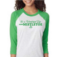 Mistletoe Baseball T-shirt