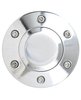 6 HOLE SMOOTH HORN BUTTON