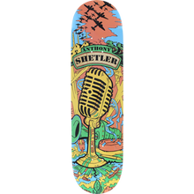 """This is the Anthony Shetler """"The Voice"""" Pro Model Deck from ALL I NEED Skateboards in size 8.1"""" x 31.8"""" . Its 8 plys of hardrock canadian maple pressed in the United States. At Charmcity we fully back AIN because they are skater owned and operated and put out a high quality product! #GoodPeeps"""