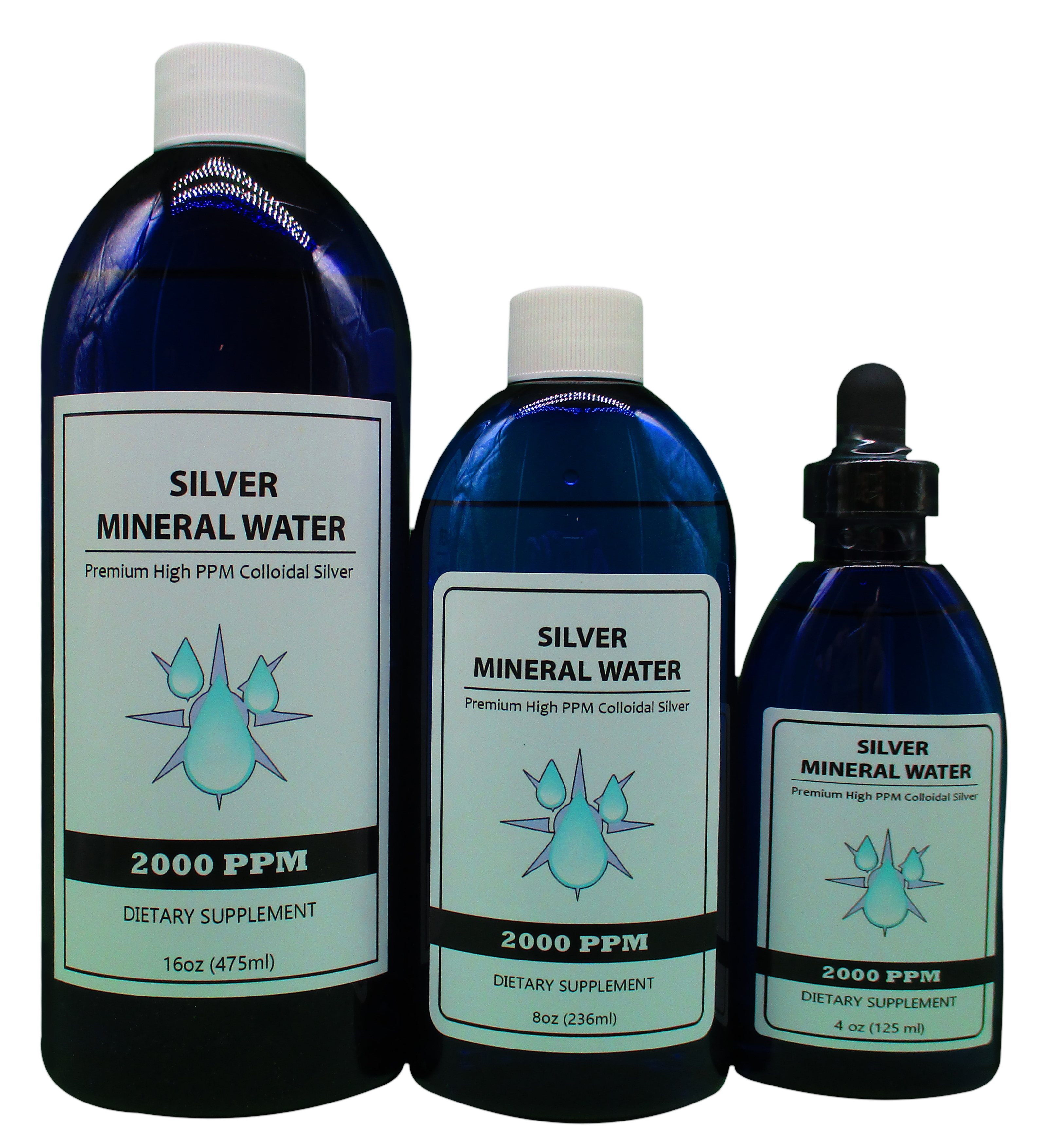 2000 PPM Colloidal Silver Products