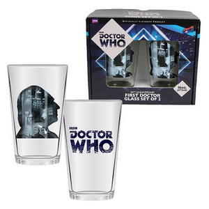 Doctor Who - First Doctor Anniversary Glass Set