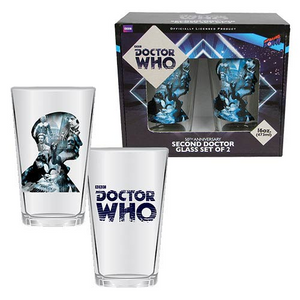 Doctor Who - Second Doctor Anniversary Glass Set