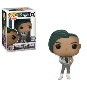SPECIALTY SERIES: POP! Comics: Saga - Alana w/ Baby