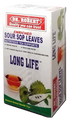 DR Robert Soursop Leaves tea 40g  (20 tea bags) packaged in a White and Red Rectangular box   Graviola tea,GUANABANA tea