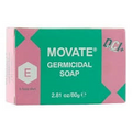 Movate Germicidal Soap 80 grams   Pink and Mint Green cardboard packaging