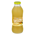Pineapple Ginger Drink in glass bottle