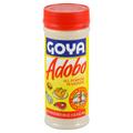 Goya seasoning in plastic bottle