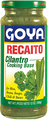 Recaito in a glass bottle